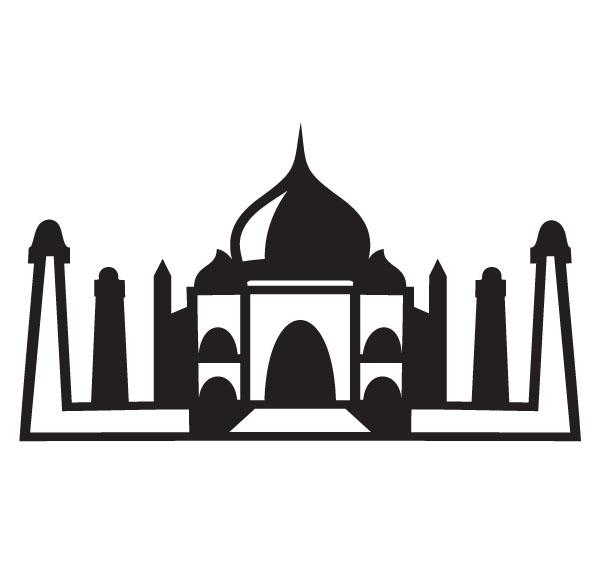 ... Taj mahal clipart - Clipa - Taj Mahal Clipart