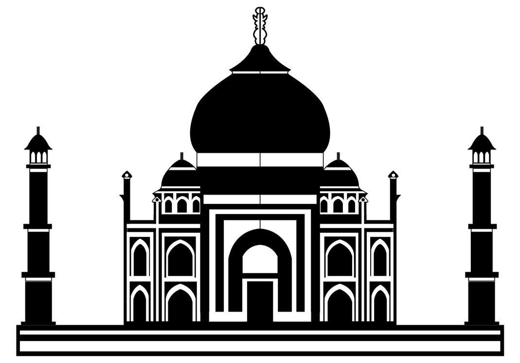 Taj Mahal Clipart Cliparts Co. Taj Mahal Vector