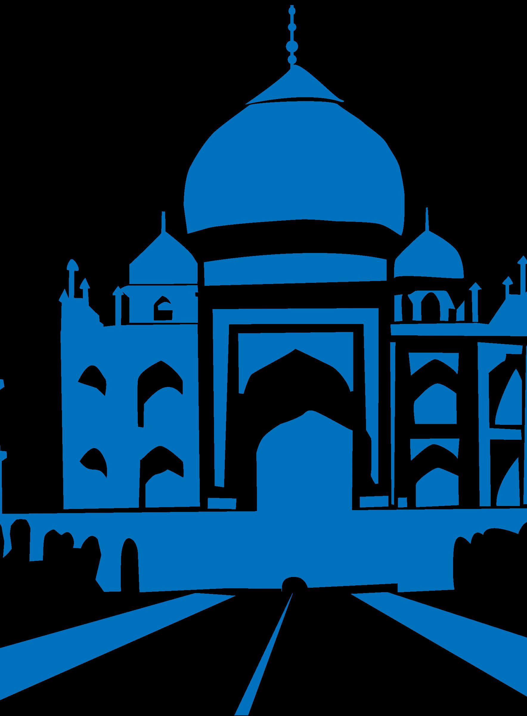 ... Taj mahal clipart ... - Taj Mahal Clipart