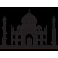Taj Mahal Clipart 2-taj mahal clipart 2-14