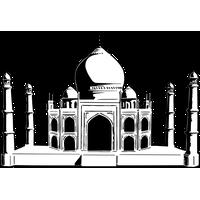Taj Mahal Picture PNG Image