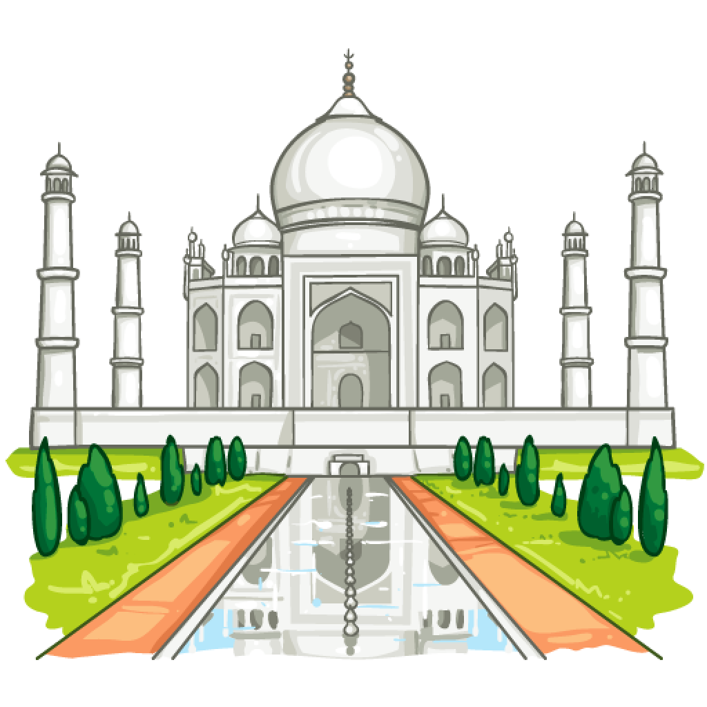 Taj Mahal PNG Photos