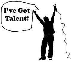 Talent Show Clip Art Black .