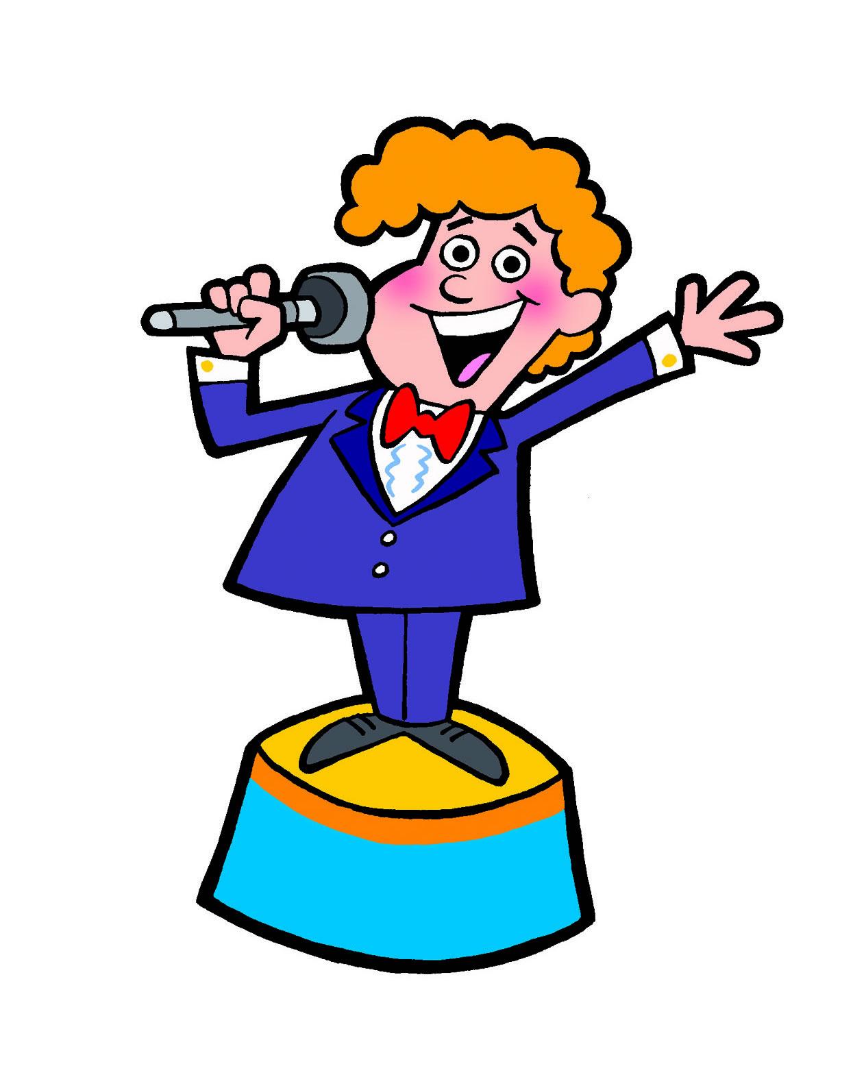 Talk Show Host Clipart .