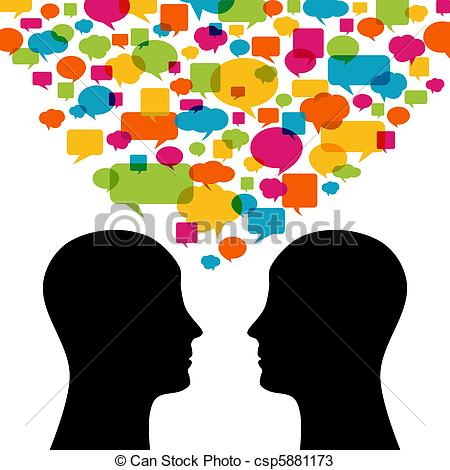 ... Talking - People Talking - People Talking Clip Art