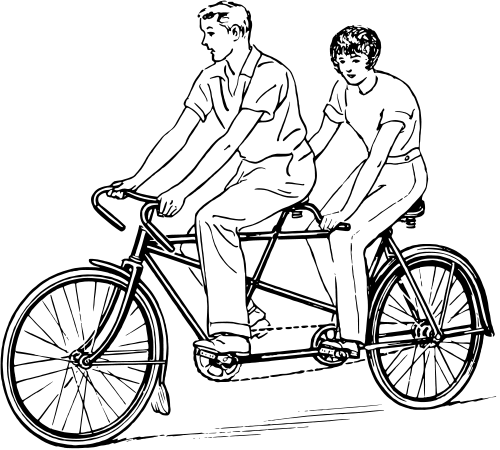Tandem Bicycle For Two Clip Art Download-Tandem Bicycle For Two Clip Art Download-7
