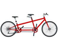 Tandem Bike Clipart. Size: 70 Kb-tandem bike clipart. Size: 70 Kb-14