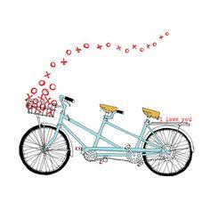 Tandem XO Tandem Bike Love .-Tandem XO tandem bike love .-17