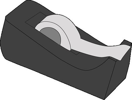 Tape Dispenser Clip Art Image Black Tape-Tape Dispenser Clip Art Image Black Tape Dispenser With Stoch Tape-10