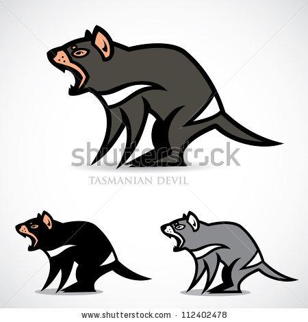 Tasmanian Devil - Vector Illustration-Tasmanian devil - vector illustration-18