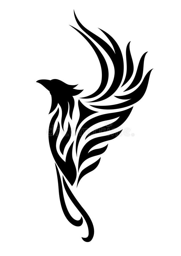 Download Phoenix Tattoo Clipart Stock Il-Download Phoenix tattoo clipart stock illustration. Illustration of tattoo  - 64873448-3