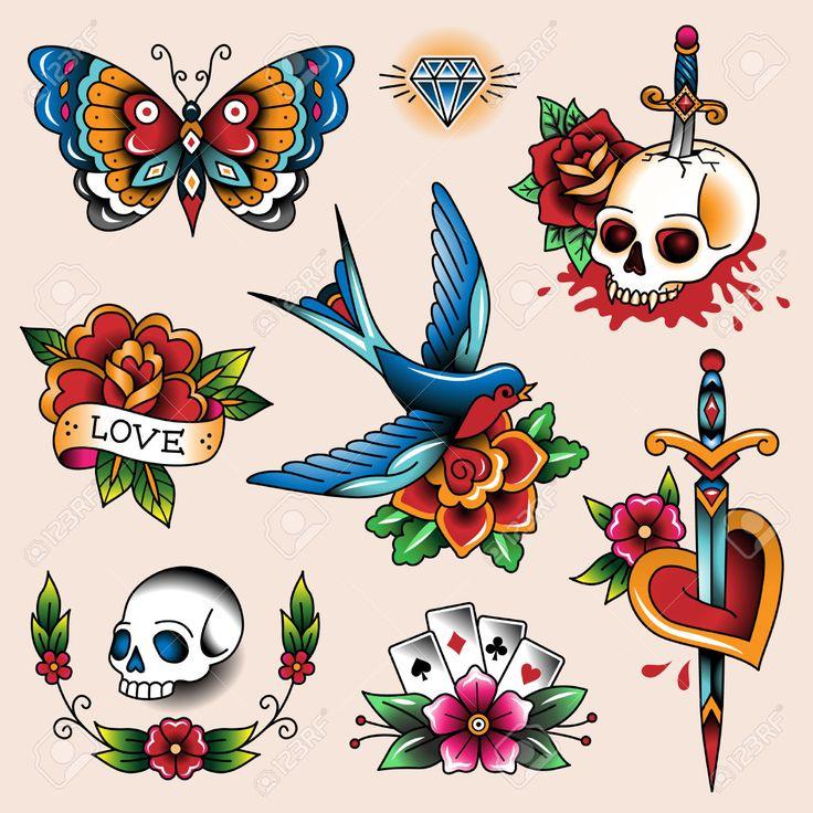 Traditional Tattoo Clipart - Google Sear-traditional tattoo clipart - Google Search-15