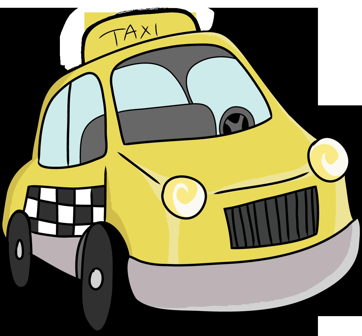 Taxi Cab Clipart-Clipartlook.com-1257