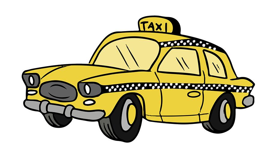 Taxi Cab Clipart-Clipartlook.com-900