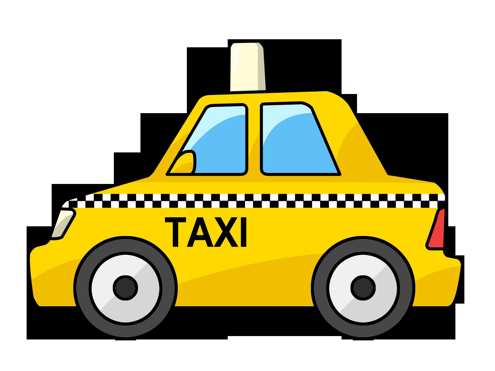 Cab Clipart: Yellow Taxi Cab Clip Art-Cab clipart: yellow taxi cab clip art-5