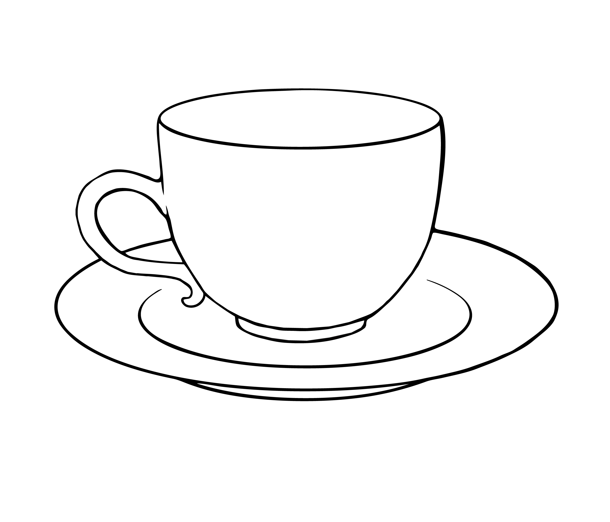 Tea Cup Saucer Colouring Pages-Tea Cup Saucer Colouring Pages-11