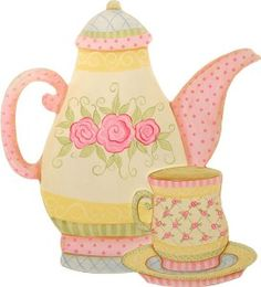 Tea Party Clip Art Tea Party .-Tea Party Clip Art Tea Party .-10