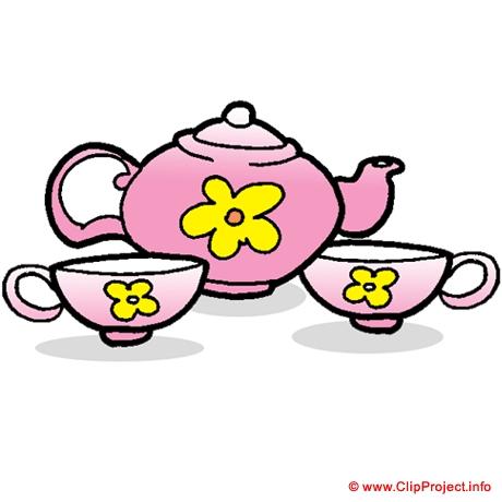 Bureau Clipart: Tea Set Clipart Gratuite-Bureau clipart: Tea set clipart gratuite-3