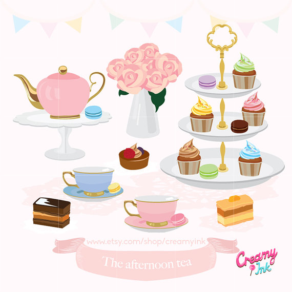 Tea Time Clipart-Clipartlook.com-570