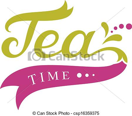 Tea time design - csp16359375