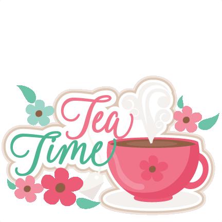 Tea Time Title SVG Scrapbook Cut File Cu-Tea Time Title SVG scrapbook cut file cute clipart files for silhouette  cricut pazzles free svgs free svg cuts cute cut files-17