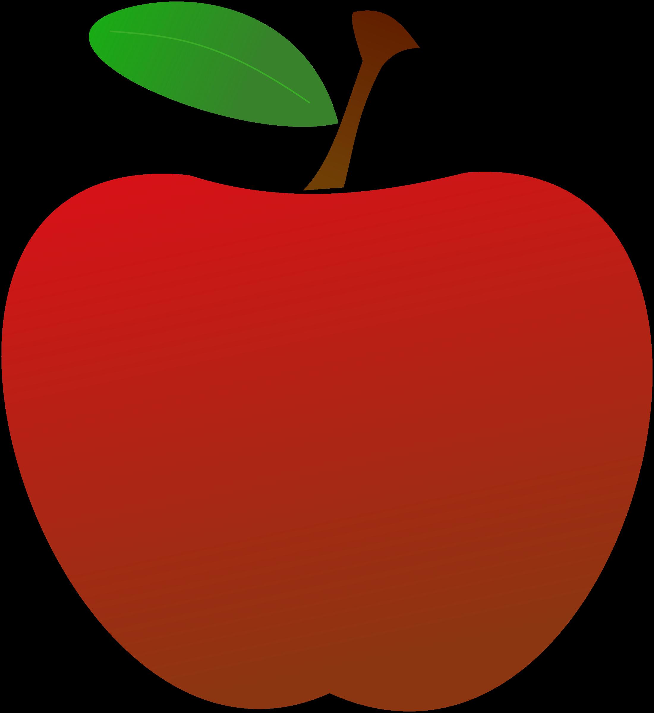teacher apple clipart
