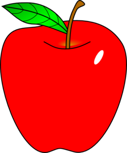 teacher apple clipart-teacher apple clipart-0
