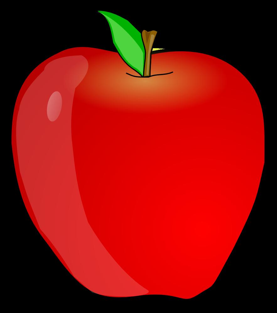 Teacher Apple Clipart-teacher apple clipart-2