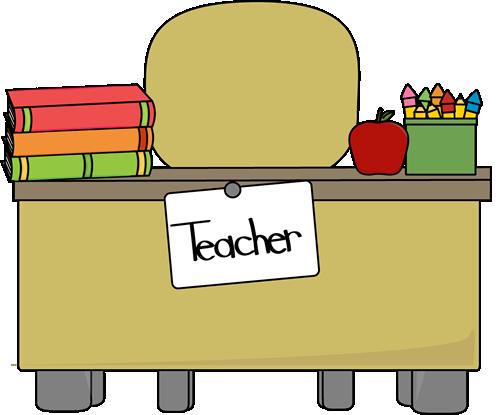 Teacheru0026#39;s Desk Clip Art - Teache-Teacheru0026#39;s Desk Clip Art - Teacheru0026#39;s Desk Vector Image-16