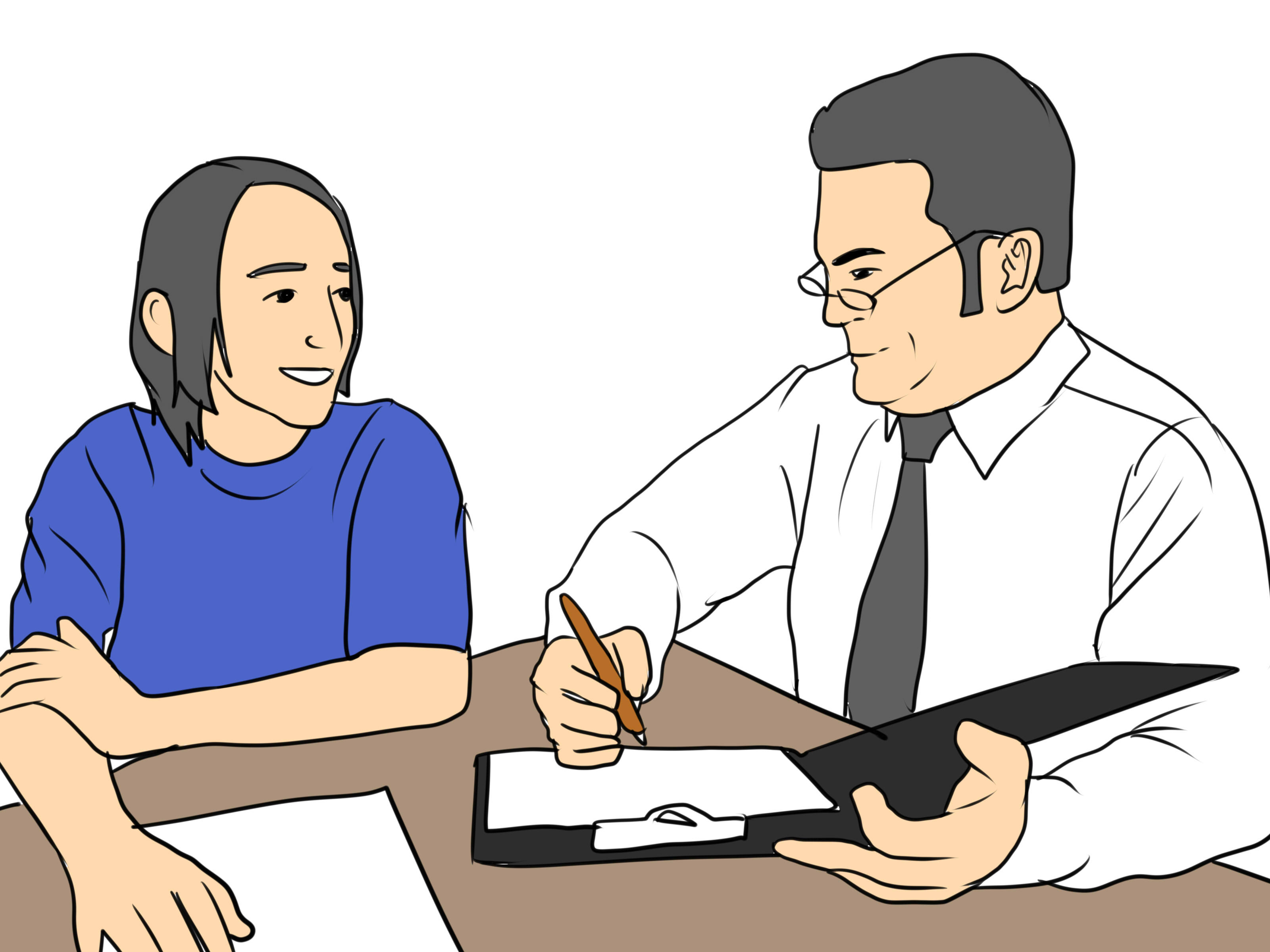 Teacher And Student Talking Clipart. Not-Cry-when-a-Teacher-Shouts- .