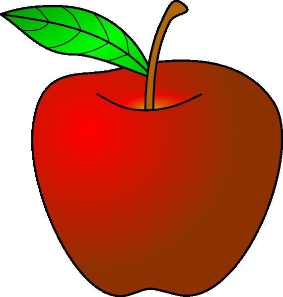 teacher apple clipart-teacher apple clipart-1