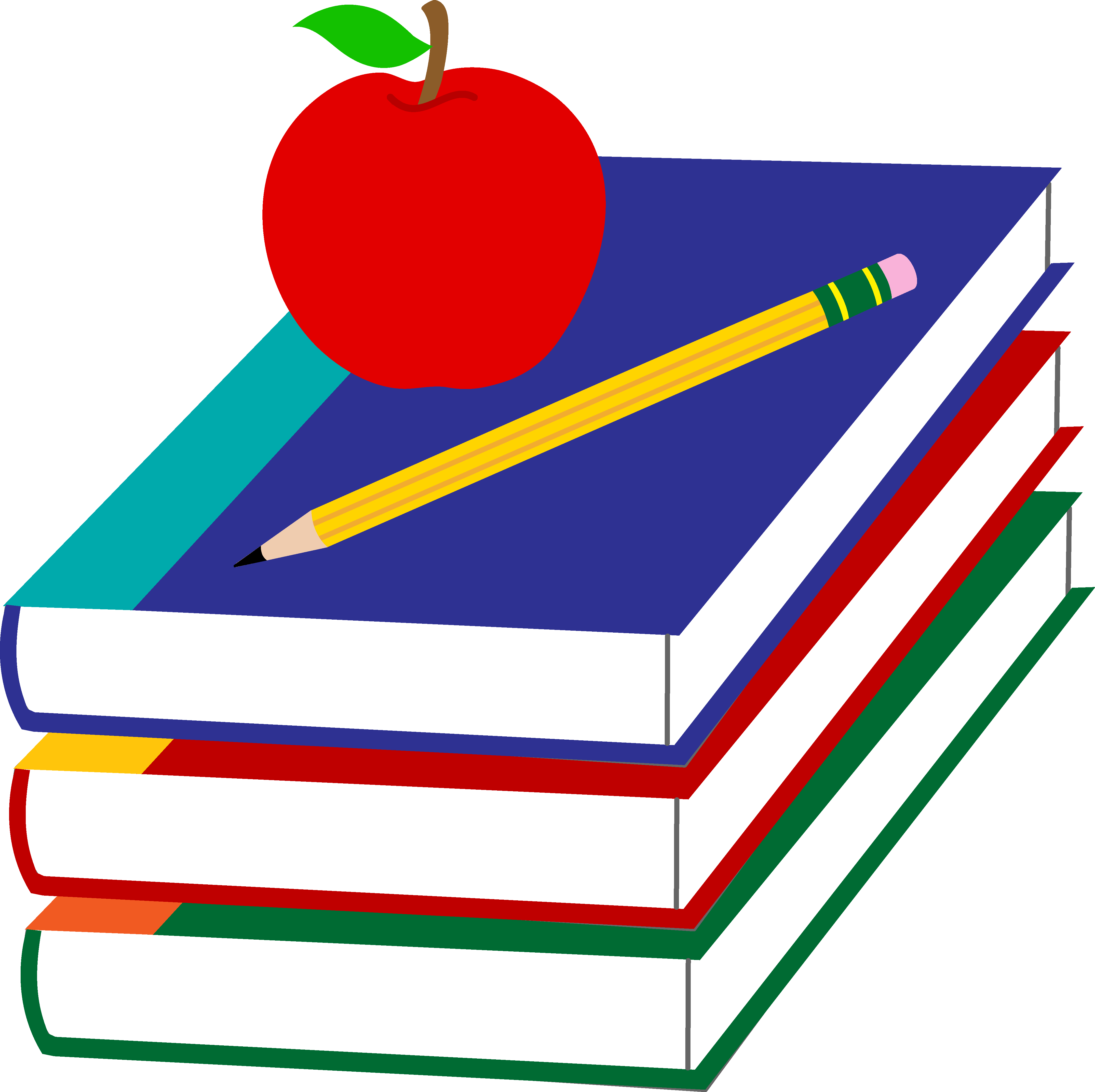 Teacher Apple Clipart | Clipart library - Free Clipart Images