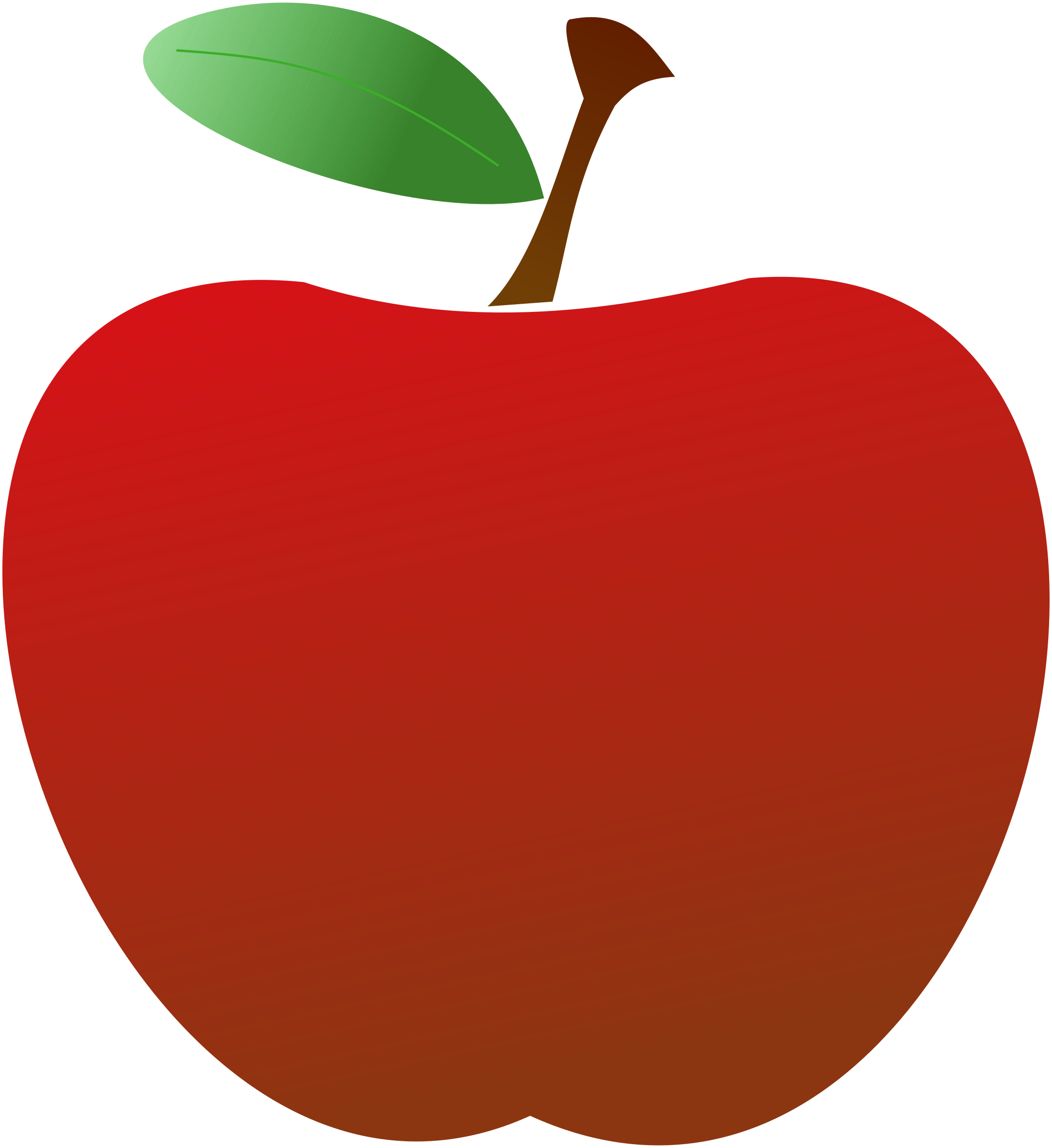 Teacher apple clipart free images 4