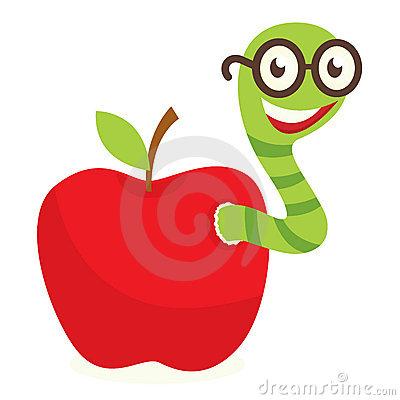 Teacher Apple Worm Apple Worm 10678486 Jpg