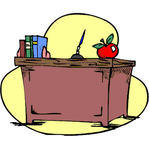 Teacher Desk Clip Art Pic 13 Cliparts101 Com 9 Kb 300 X 300 Px