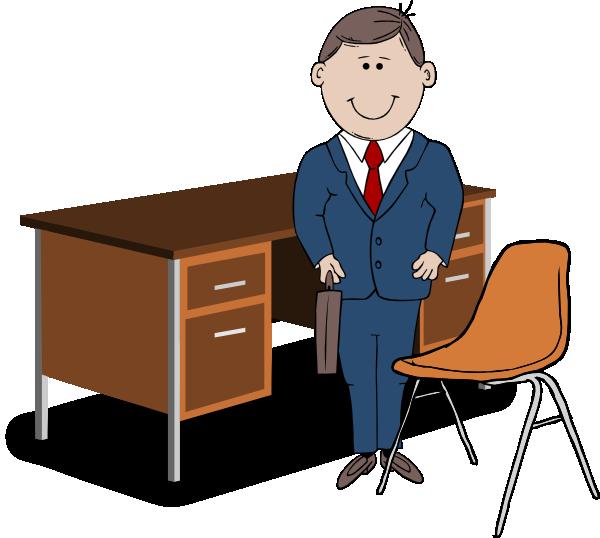 Teacher Manager Between Chair And Desk C-Teacher Manager Between Chair And Desk Clip Art At Clker Com-18
