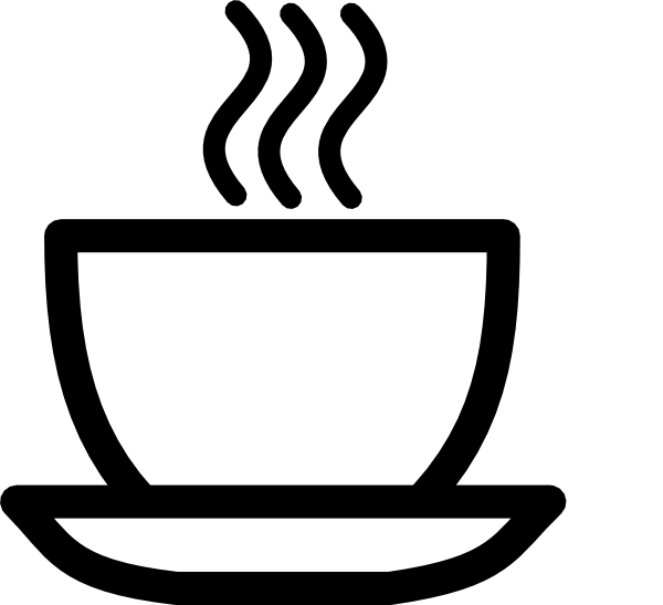 teacup clipart black and white-teacup clipart black and white-8