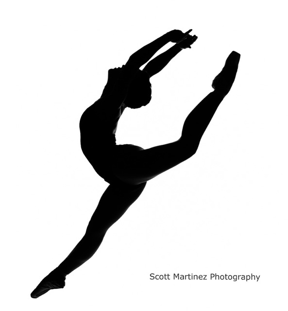 ... team clipart; ballet silh - Dance Team Clipart