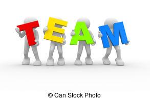 . ClipartLook.com Team - 3D People- Huma-. ClipartLook.com Team - 3D people- human character in team - This is a 3d.-13