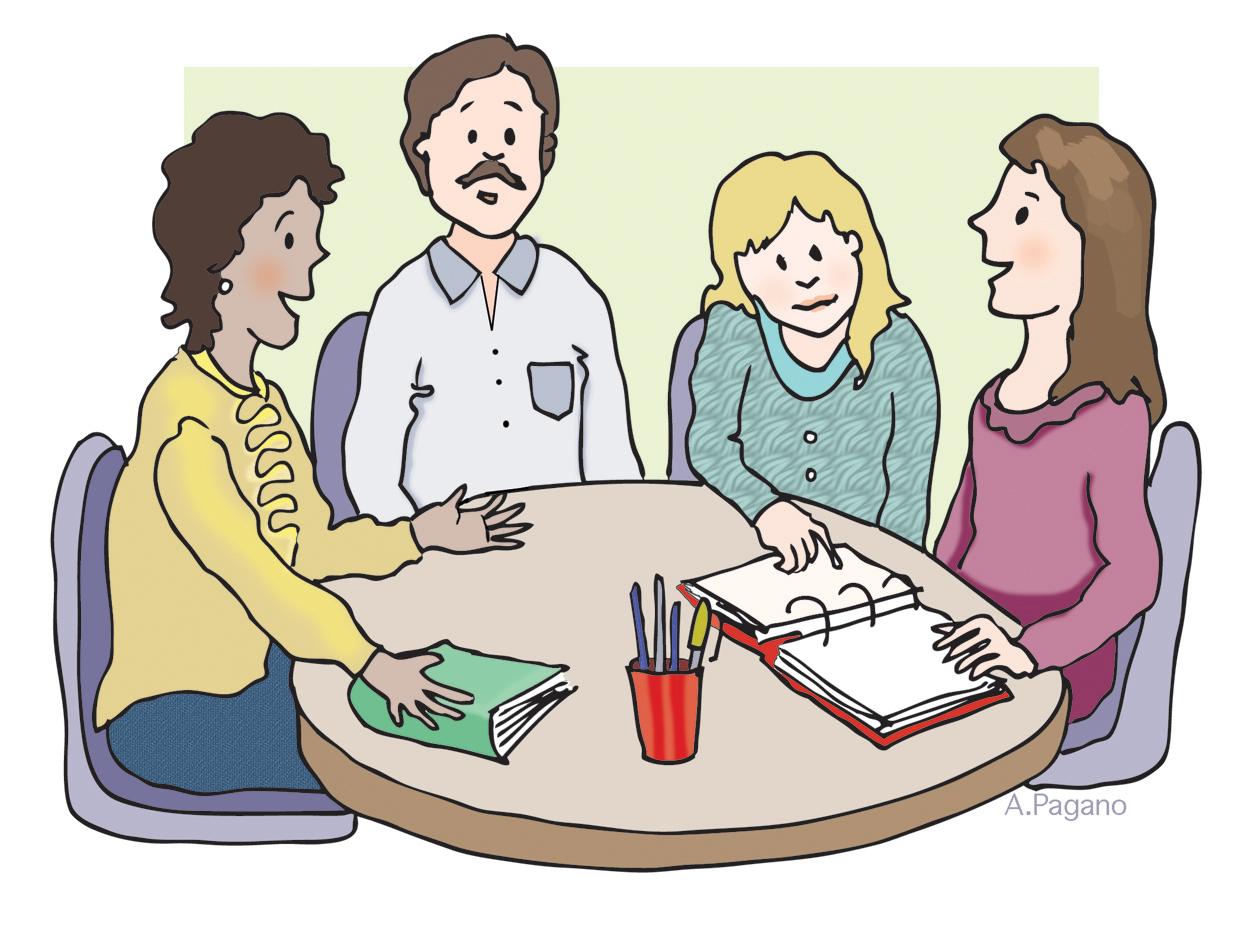 Team Meeting Clipart - .-Team meeting clipart - .-18