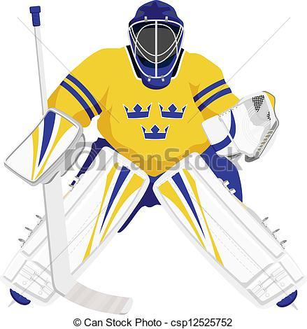 ... Team Sweden Hockey Goalie, Isolated -... Team Sweden hockey goalie, isolated vector illustrations-15