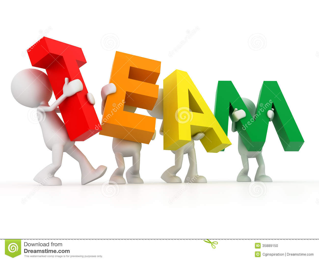 Team Workers Clipart