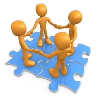 teamwork puzzle clipart
