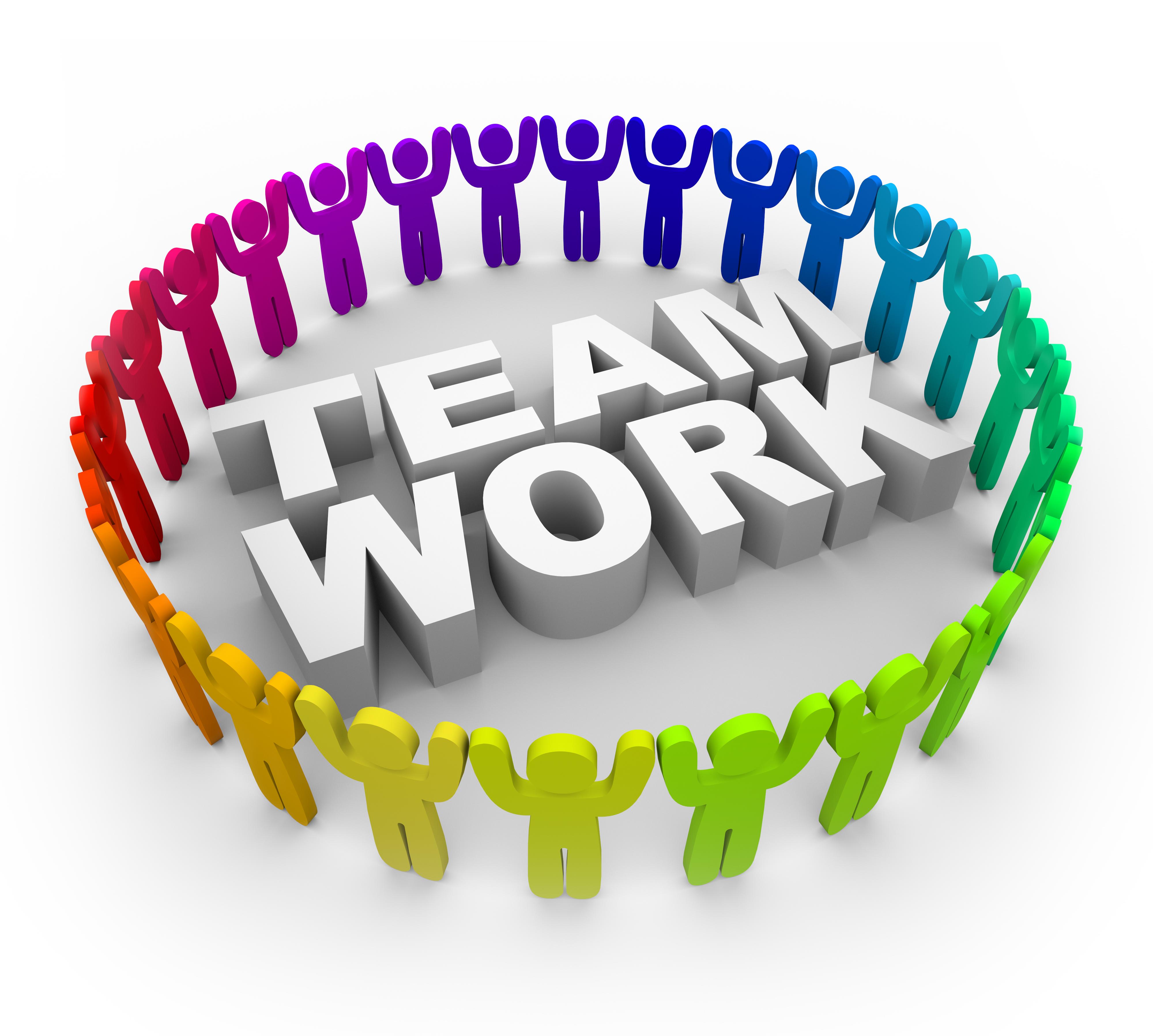 Teamwork Clip Art Clipart Free Clipart