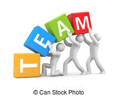 Teamwork Clip Artby frenta7/592; Teamwork concept. Isolated on white