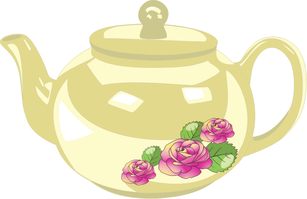 Teapot free to use clipart