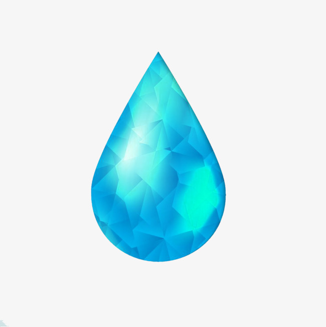 diamond tears picture material, Diamond Like, Blue, Tear PNG Image and  Clipart