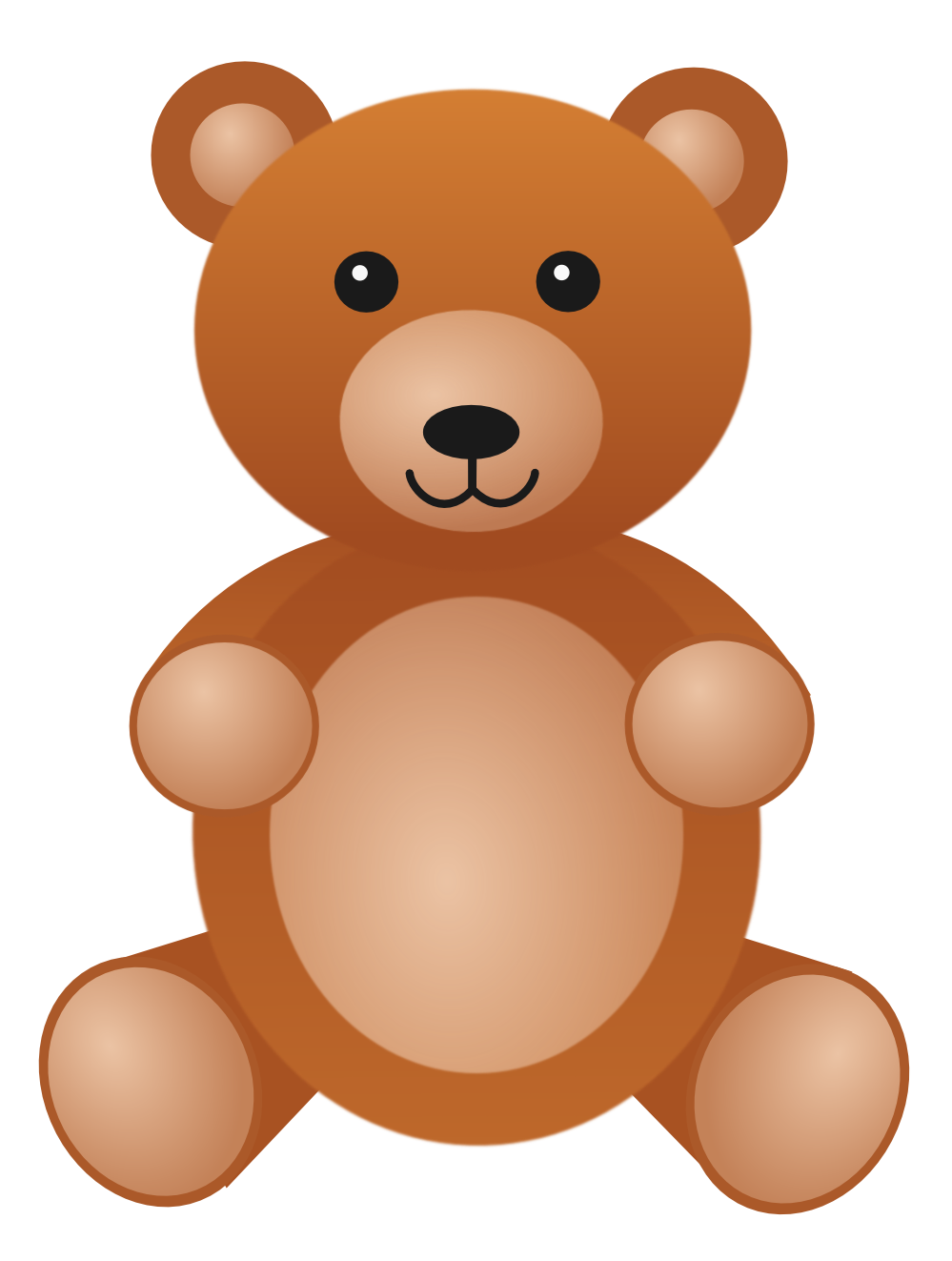 Teddy Bear Clip Art #12121