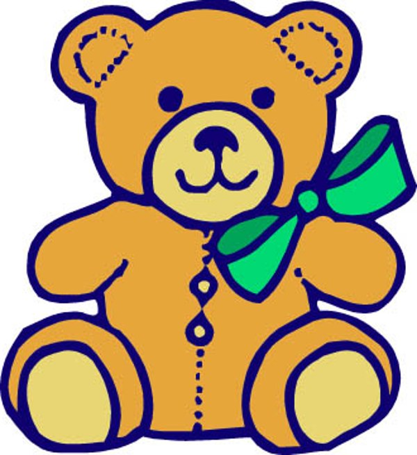 Teddy bear clip art 2 clipartwiz