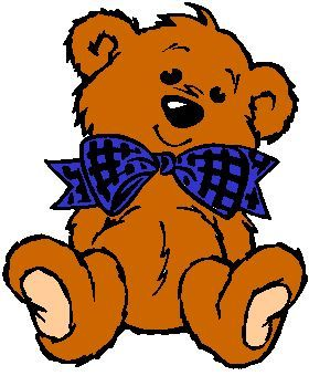 Teddy bear clip art on teddy bears clip art and bears 2 clipartwiz 3 | Clip  Art | Pinterest | Brown teddy bear, Brown and Changu0027e 3
